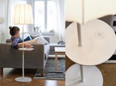 kabellose Smartphone Aufladen Ikea