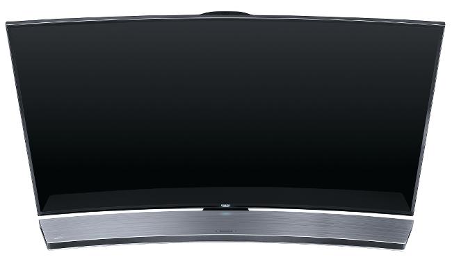 curved soundbar hat den bogen raus captain gadget. Black Bedroom Furniture Sets. Home Design Ideas