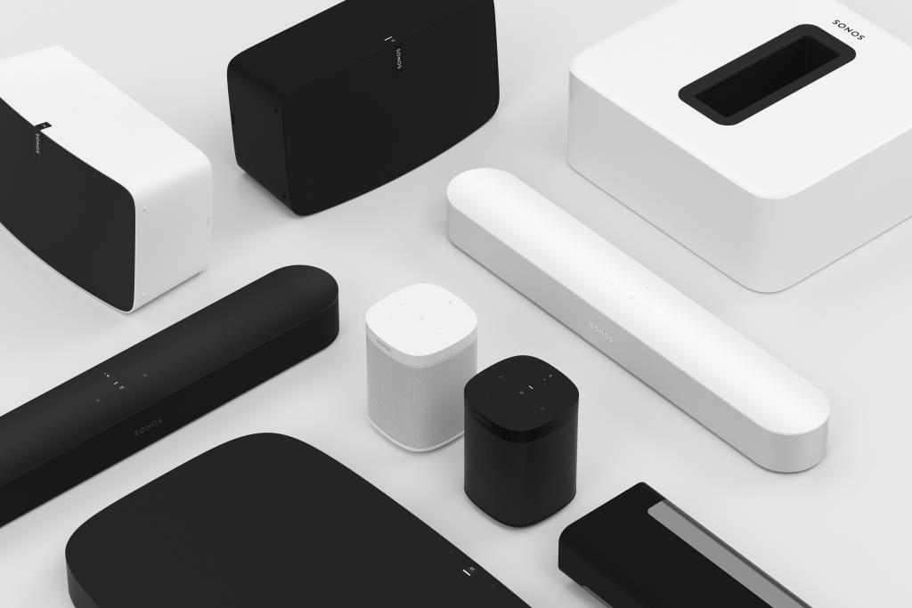 Sonos Beam und Lautsprecherfamilie