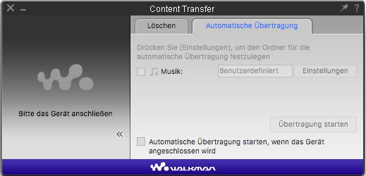 Sony Content Transfer