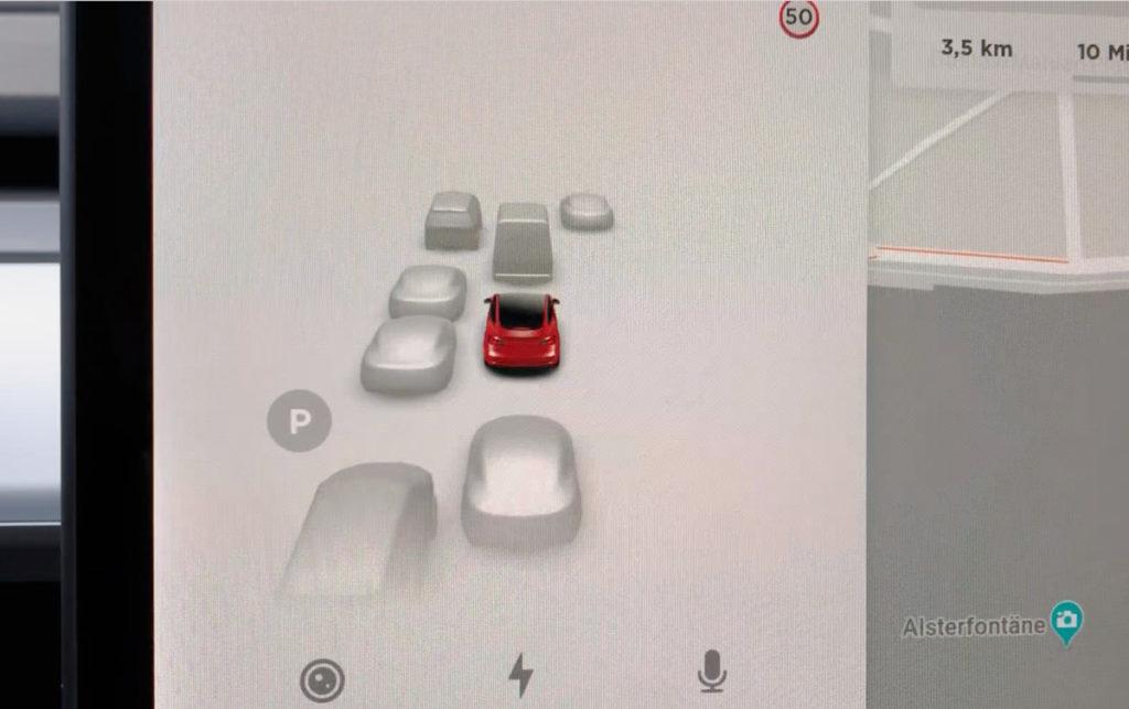 Sensoren Tesla Model 3