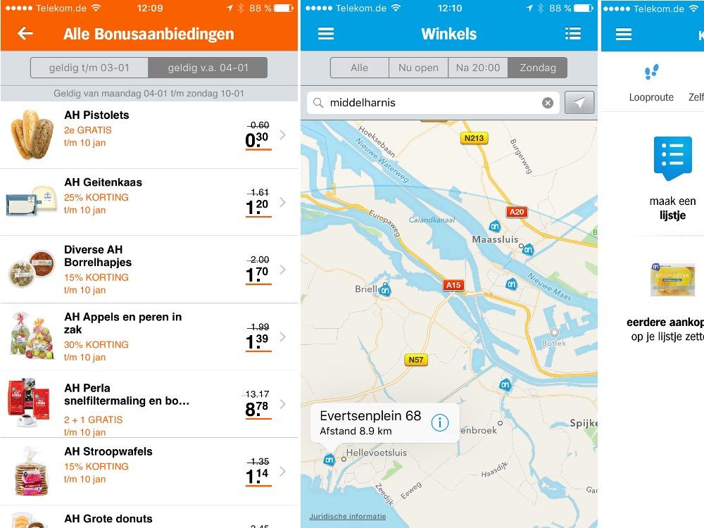 Appie App von Albert Heijn