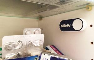Amazon Dash Bestellknopf für Gilette Rasierklingen