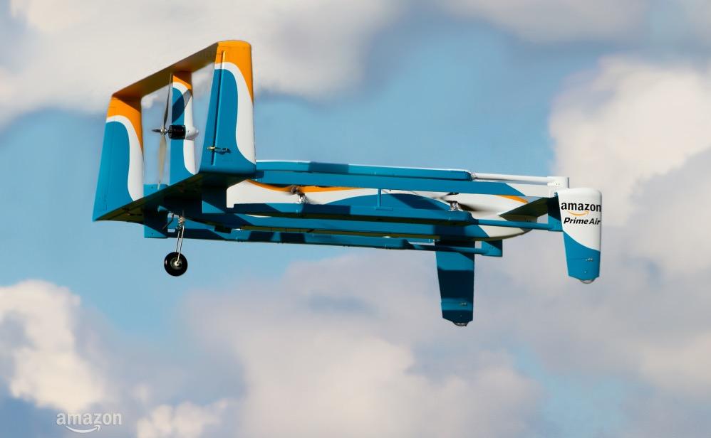 Amazon Lieferung Drohne