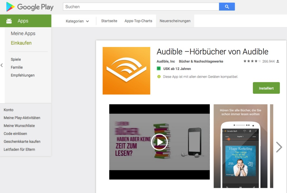 audible android