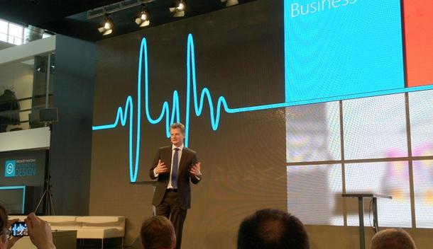 Ralph Haupter präsentiert Microsofts Heartbeat - The Power of Design (c) dk