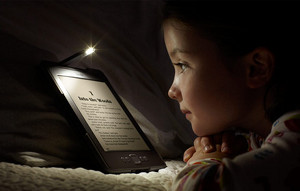Kindle lesen im Dunkeln