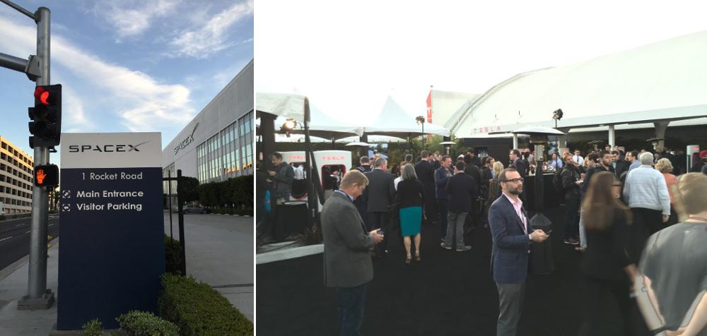Tesla Design Center auf Space X Gelände