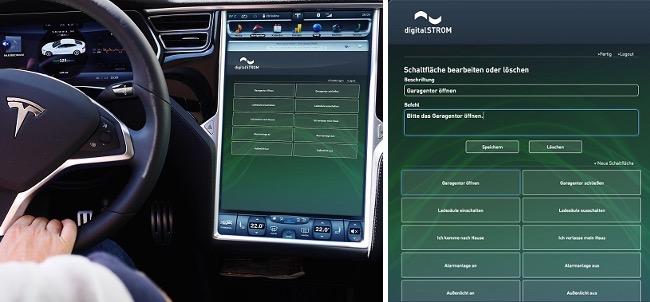 Fahren mit Digitalstrom im Tesla Model S