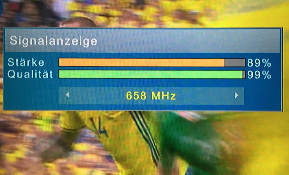 DVB T2 Empfangsqualität