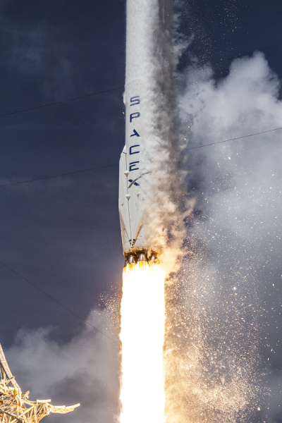 Space X Falcon 9 Rakete