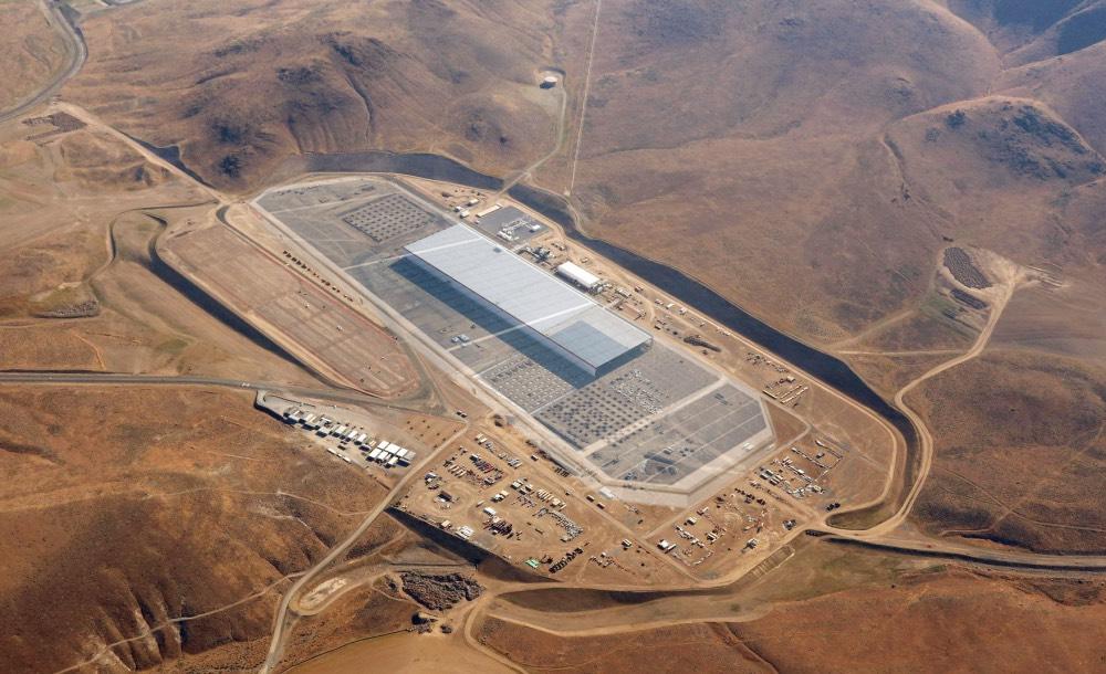 Gigafactory Tesla Nevada Wüste