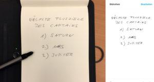 Handschrift digitalisieren mit Bamboo Spark
