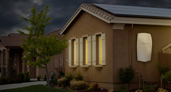 Solar City Powerwall Tesla