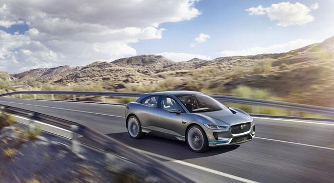 Jaguar I-Pace Studie