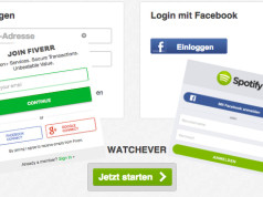 Facebook Google Social Logins