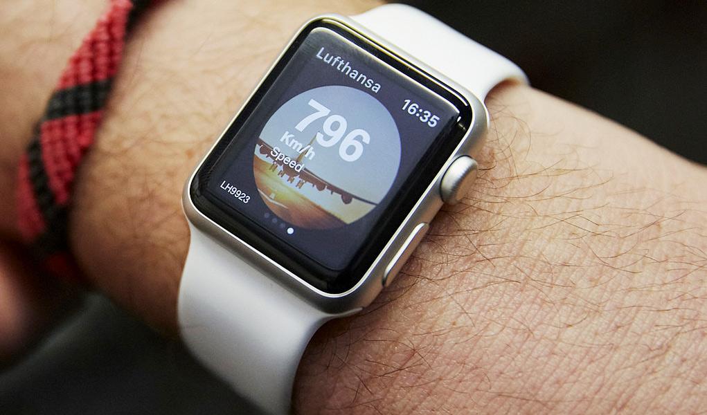 Flugstatus auf der Apple Watch ablesen