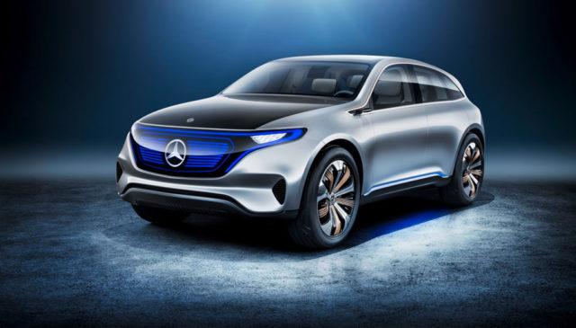 Mercedes eq Elektroauto
