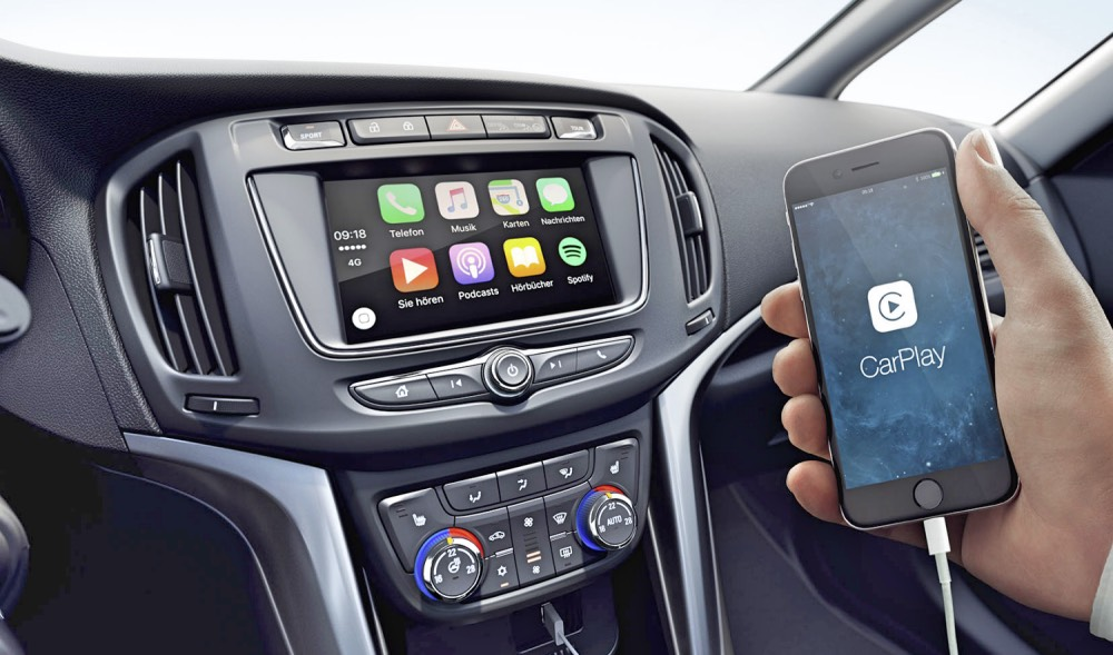 Opel Zafira Apple CarPlay