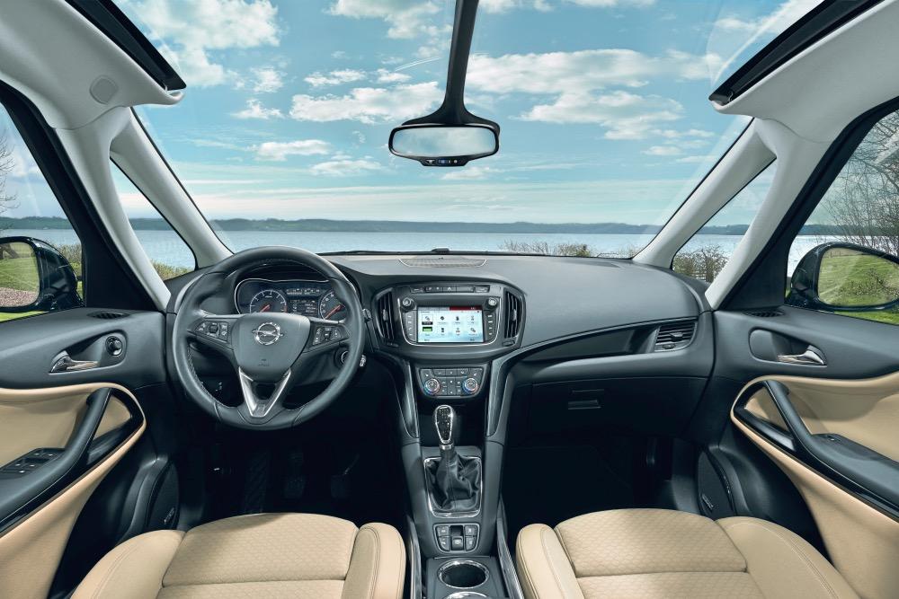 Opel Zafira Glasdach OnSTar