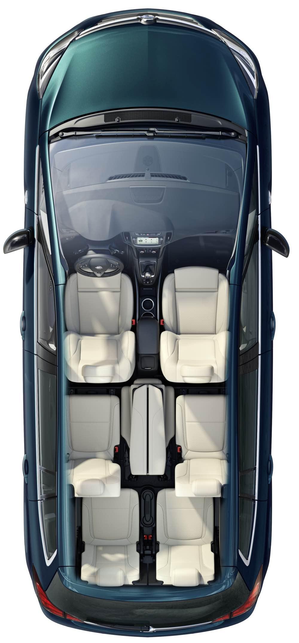 Opel Zafira Sitze OnStar