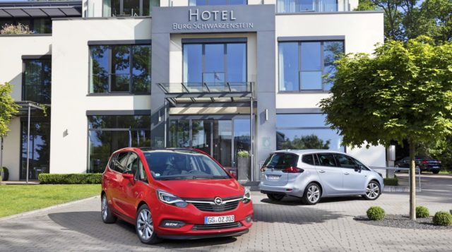 OnStar Opel Zafira