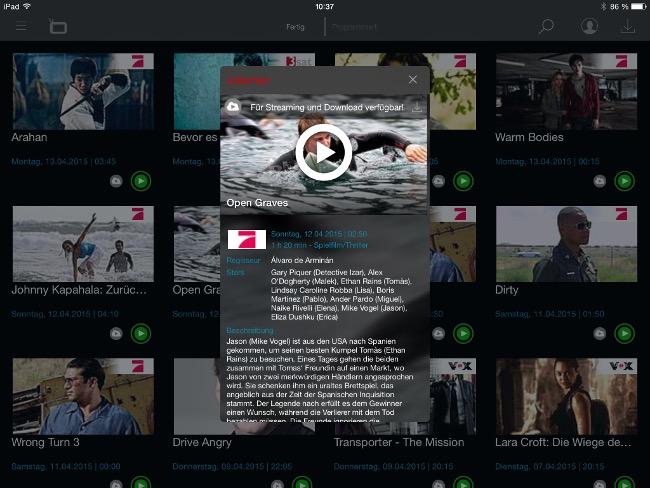 SAve.TV iPad App