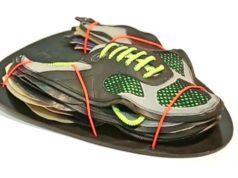 perfekte Schuh auf Reisen