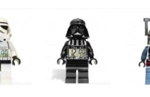 24 cm hohe Stars-Wars Figuren als Wecker von Lego