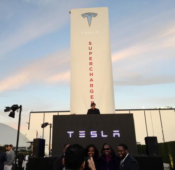 Tesla Design Center in L.A.