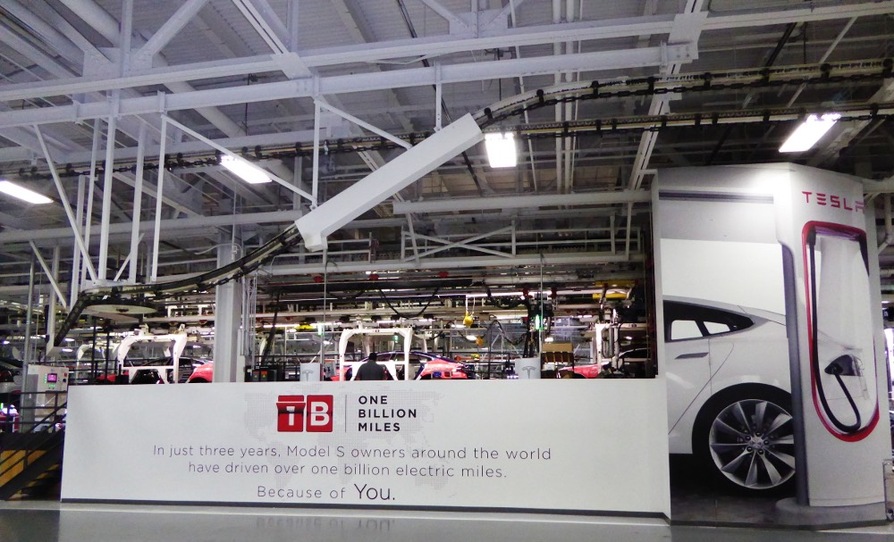 Tesla Factory Fremont
