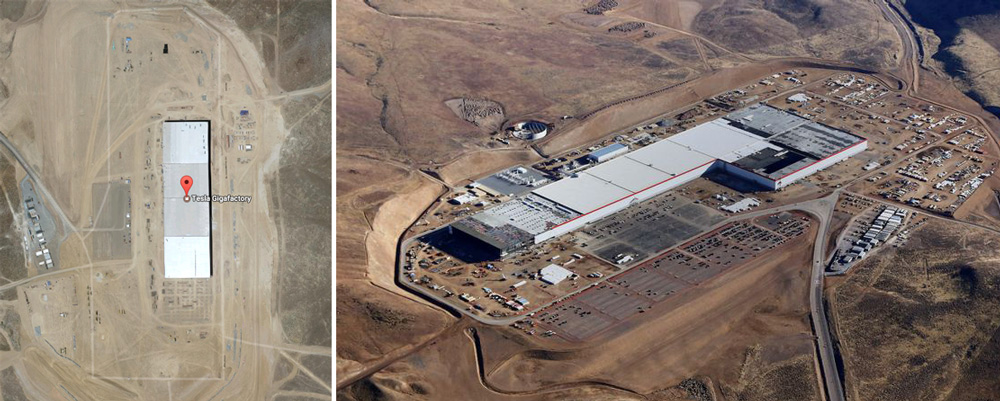 Tesla Gigafactory in Nevada