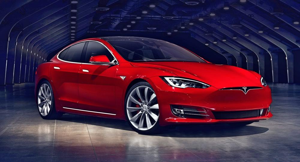 Tesla Model S neue Front