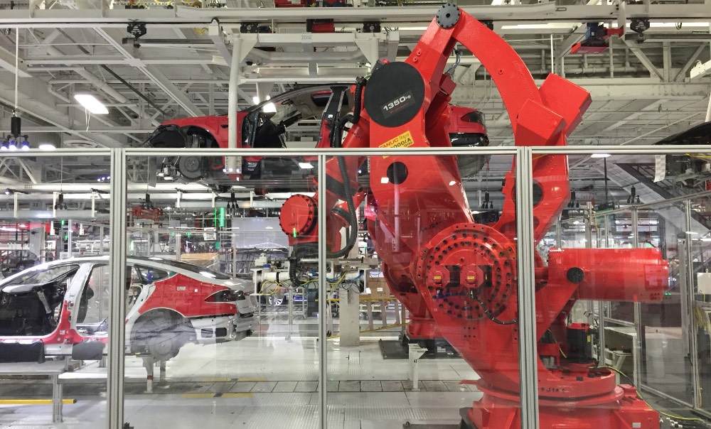 Roboter Tesla