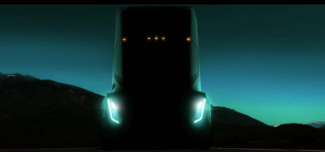 Tesla Semi Sattelzugmaschine