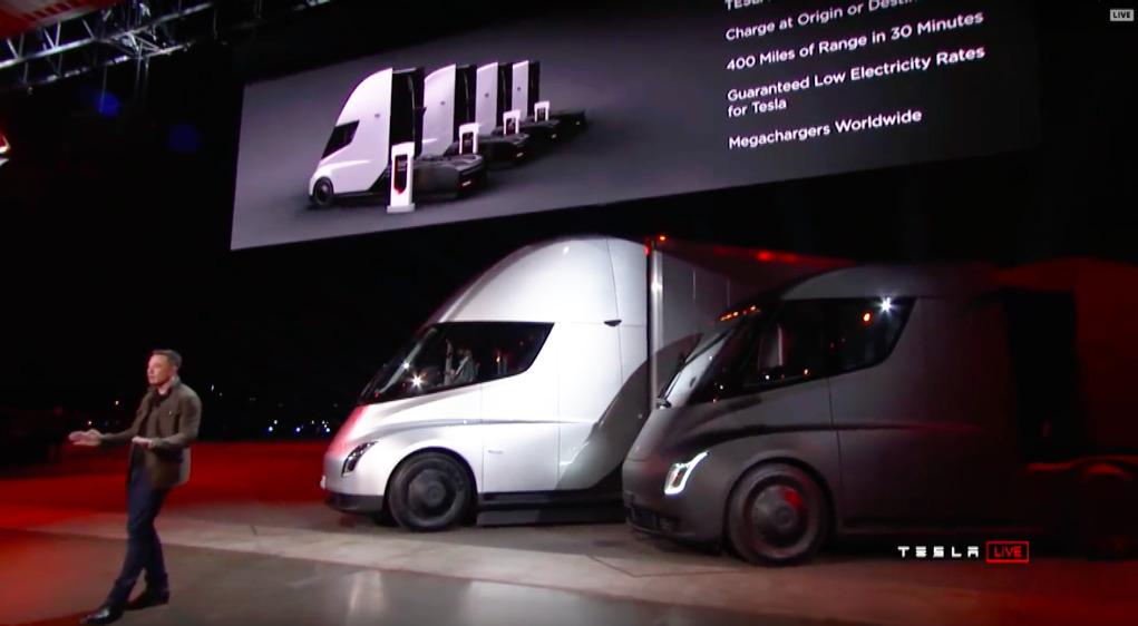 Elon Musk präsentiert den Tesla Semi Truck