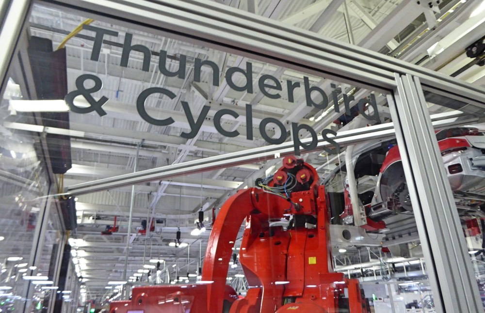 Tesla X-Men Roboter