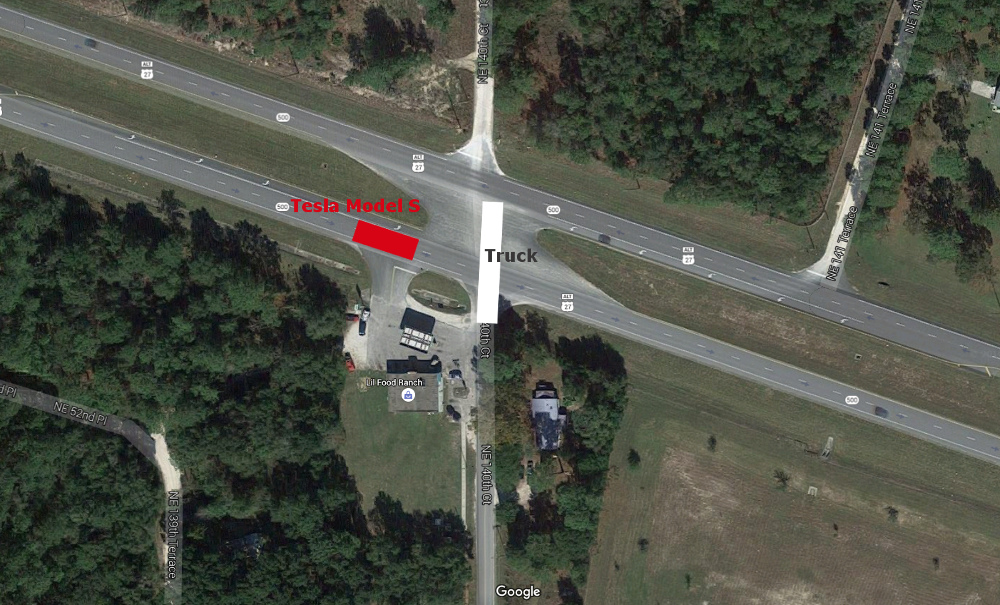 Unfall mit Autopilot im Tesla Model S in Florida