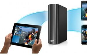Zugriff per Tablet oder Smartphone auf das WD MyBook Live (c) Western Digital