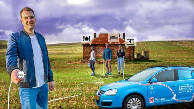 Wiebe fährt mit dem Elektroauto von den Niederlanden bis nach Australien